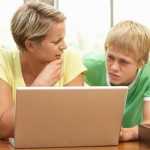 Single parent families and their online presence