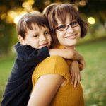 single parents raising kids