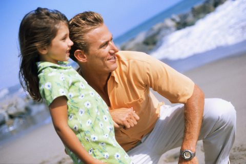 Single fathers raising daughters