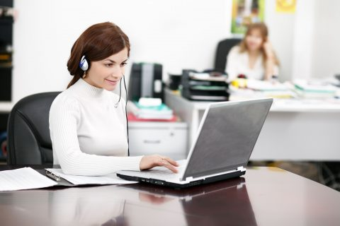 medical transcription job description
