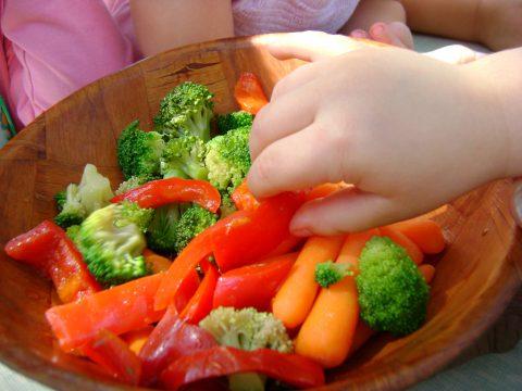 Kids Eating Vegetables