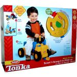 Tonka Wheel Drivers Scoot 'N Scoop 3-in-1 Ride-On